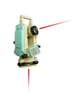 Laser Electronic Theodolite with Laser Plummit